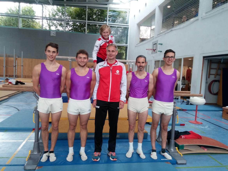 Drei Mannschaften der Turner bei Gau-Mannschaftsmeisterschaften