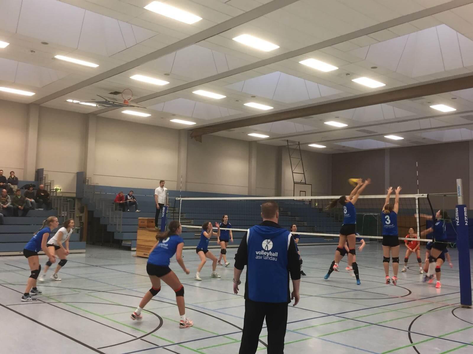 Heimsieg der Damen gegen SV Haag