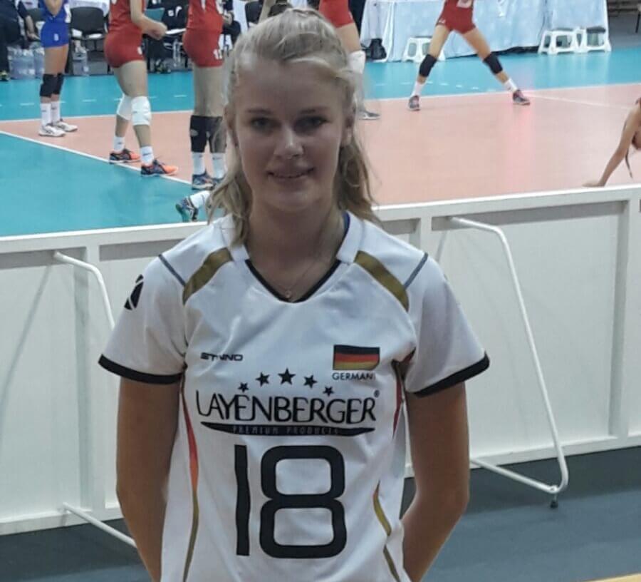 Camilla Weitzel U19-EM August 2016
