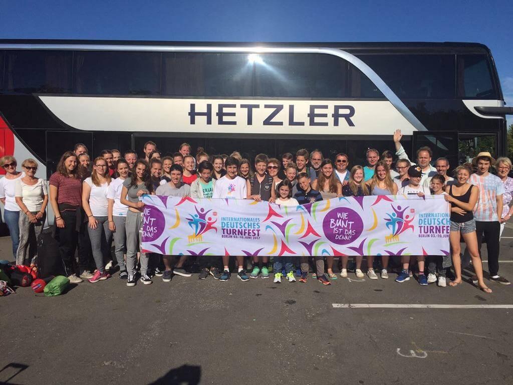 Deutsches Turnfest 2017 in Berlin: Nachbericht der Turner