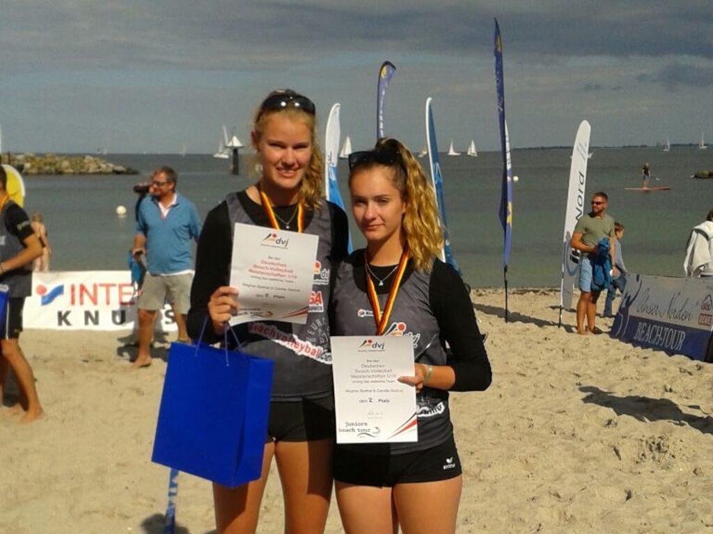Camilla Weitzel – Silbermedaille bei den Deutschen U19-Meisterschaft im Beachvolleyball