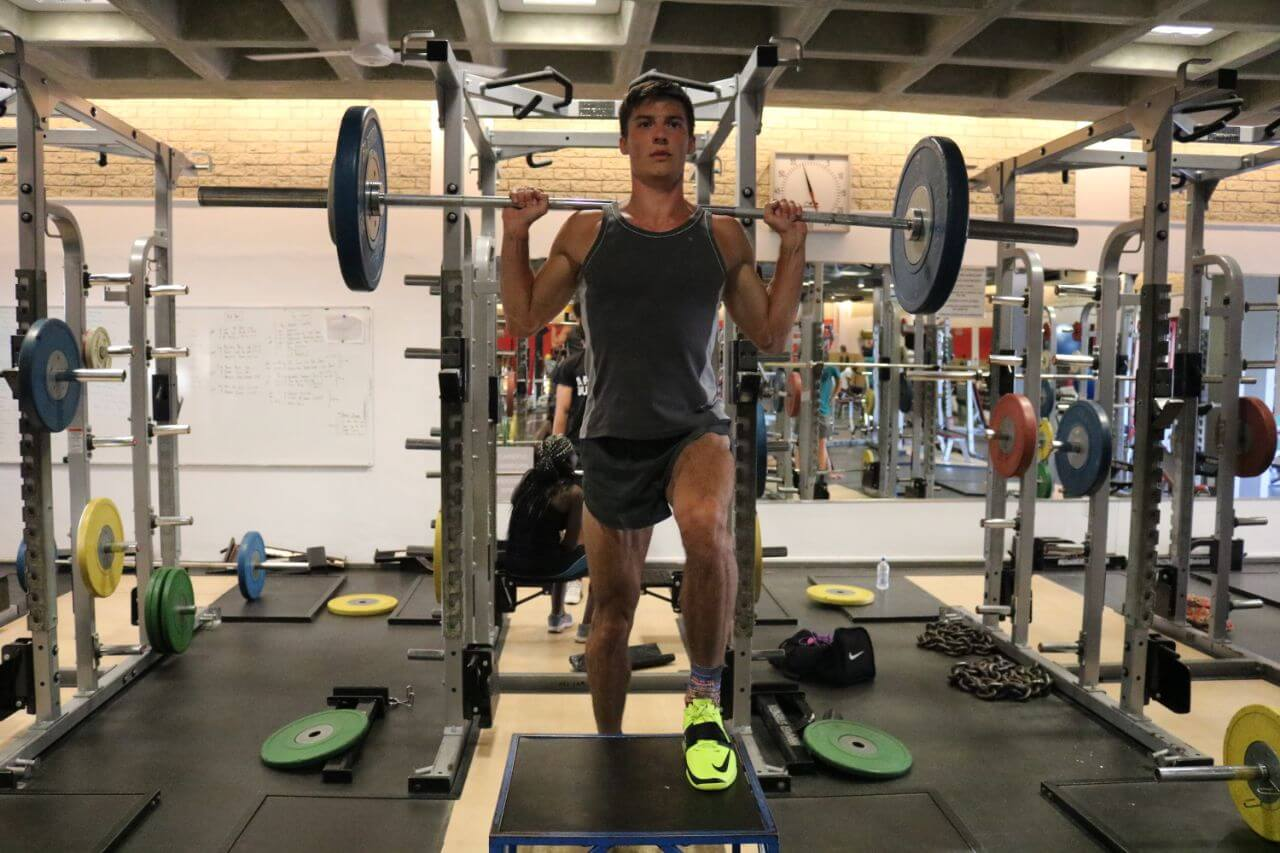 Leichtathletik-Trainingslager 2018
