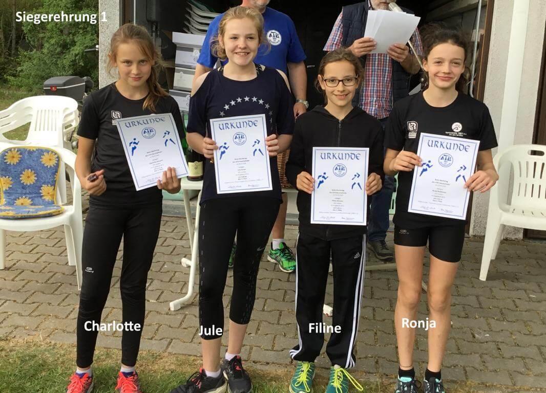 Vorbereitung zu Deutschen Meisterschaften des DTB der Leichtathletik-Disziplinen