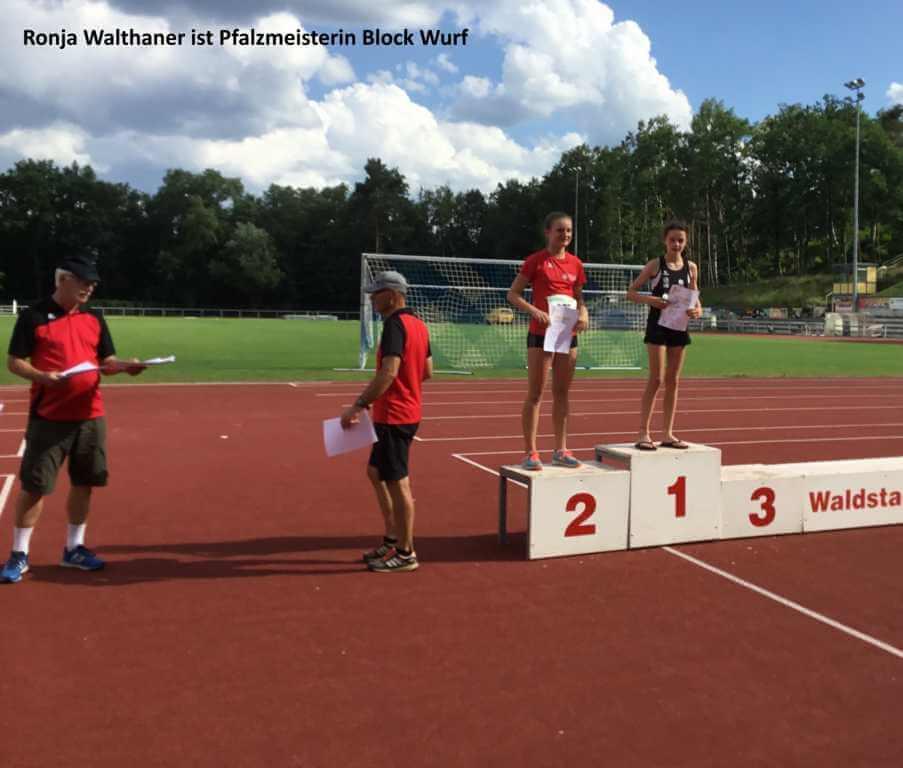 Pfalzmeisterschaften im Block-Mehrkampf in Eisenberg