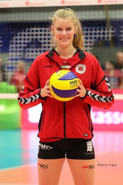 Camilla Weitzel, Volleyball