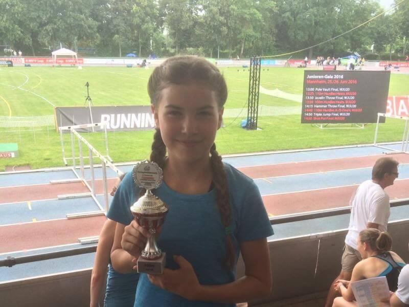 Mia Jäger gewinnt Rheinland-Pfalz-Meisterschaft