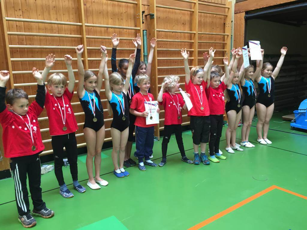 Bambini- und Kids-Mehrkampf des Turngau Speyer