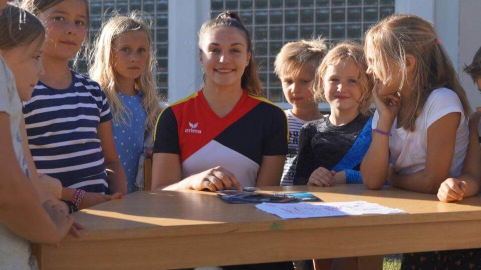 Deutschlands Olympia-Hoffnung im Turnen zu Gast
