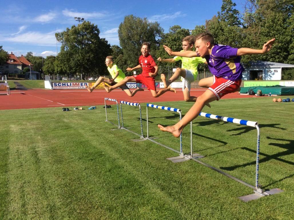 Sommertrainingszeiten der Schülerleichtathletik