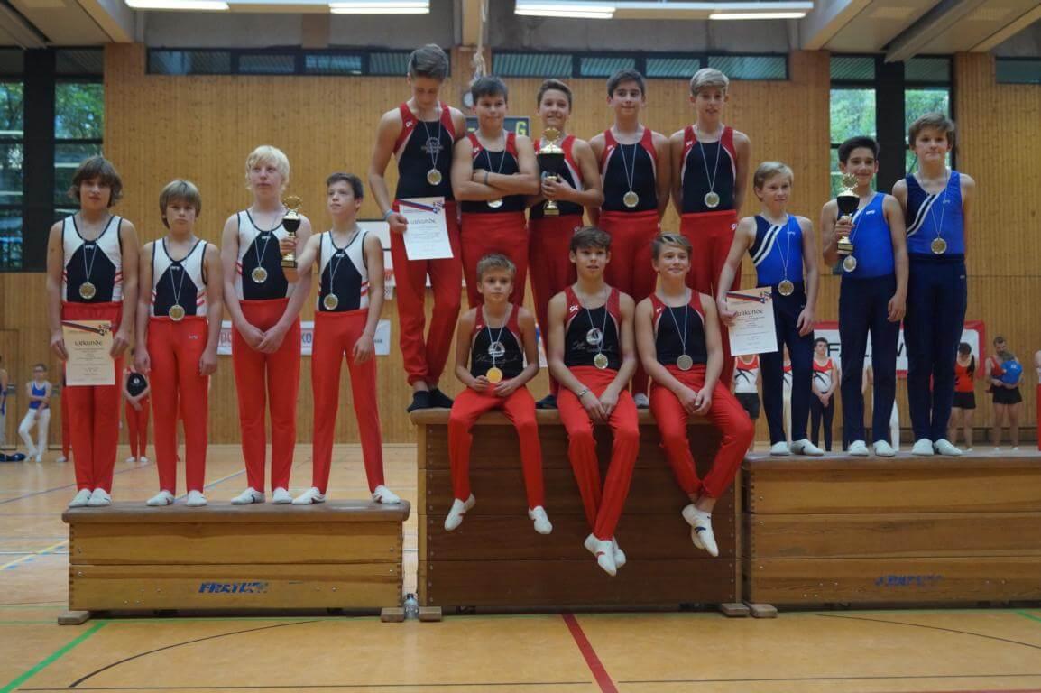Gau-Mannschaftsmeisterschaften männlich 2017