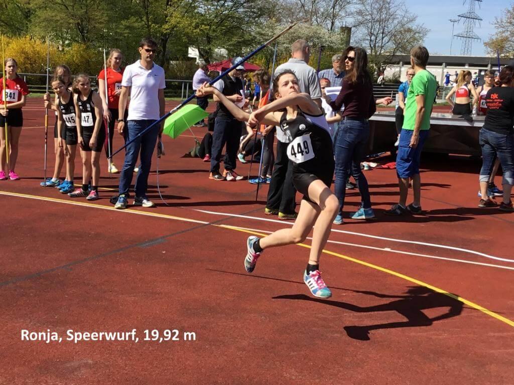 Vorbereitung für anstehende Mehrkampf- und Disziplinmeisterschaften