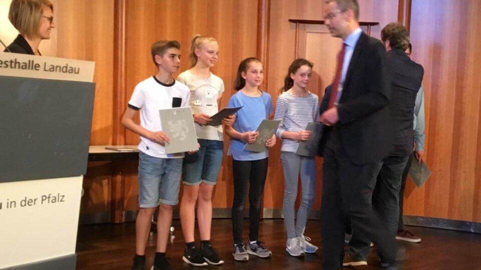 Verleihung der Landauer Stadtsportplakette