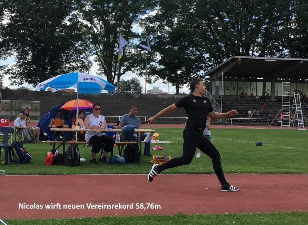 Erfolgreiche Mehrkampfqualifikationen in Weinheim und Ramstein-Miesenbach