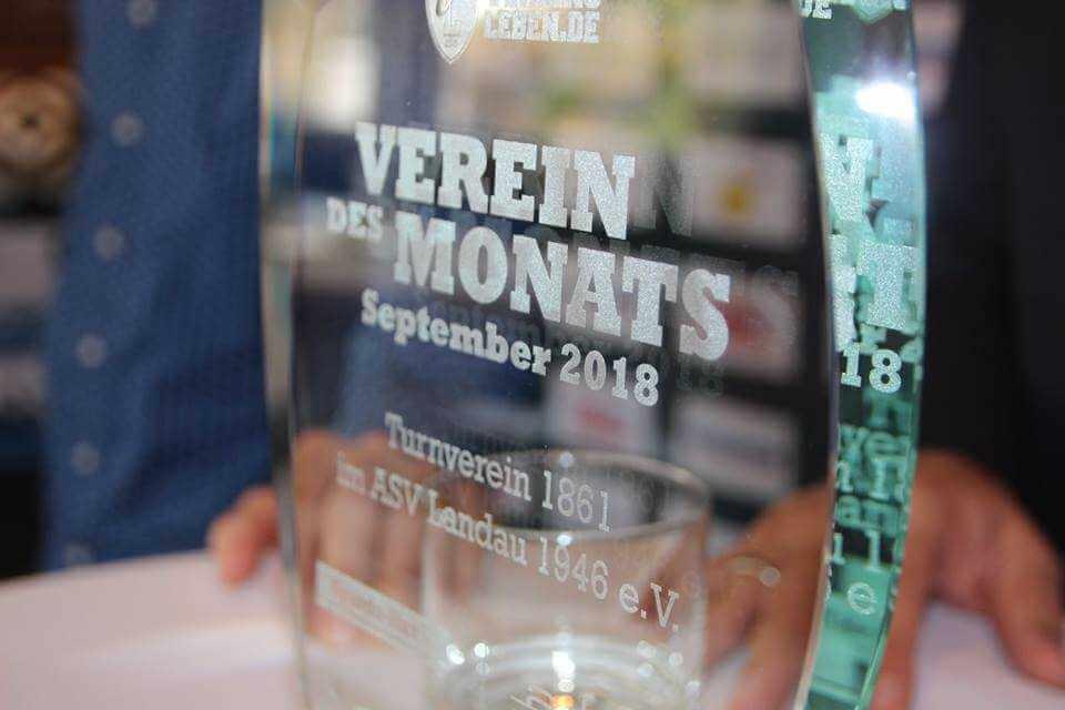 Vereinsleben.de – Gewinner des Monats September 2018