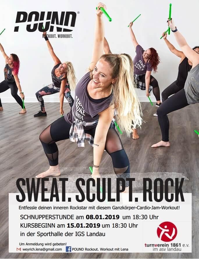 Plakat POUND TV Landau