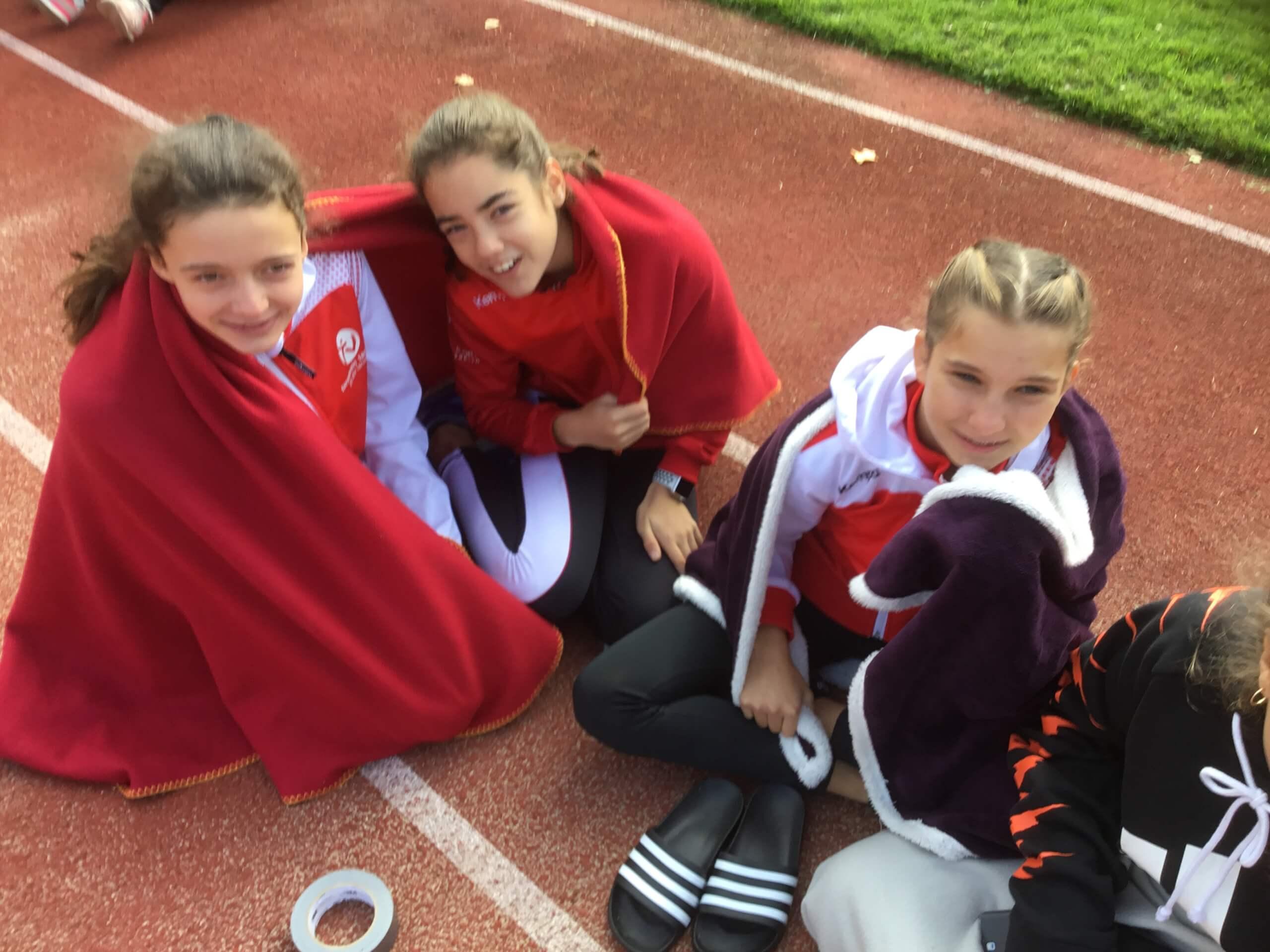 Saisonabschluss der Leichtathletik-Schüler