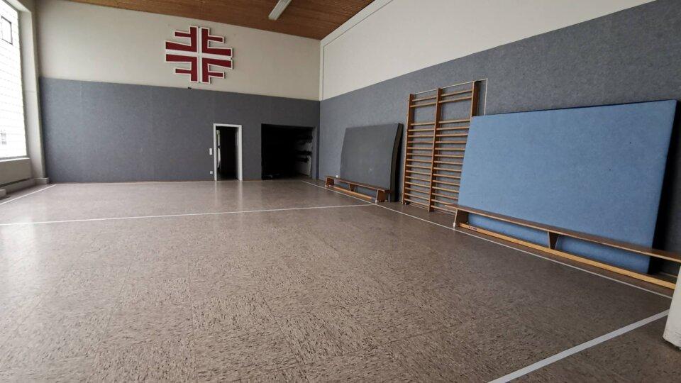 Renovierung der alten Halle im Turnerheim