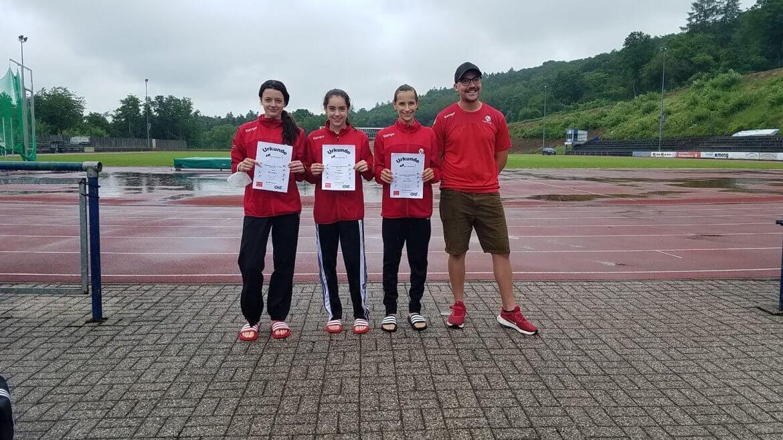 Pfalz-Rekord Siebenkampf Mannschaft