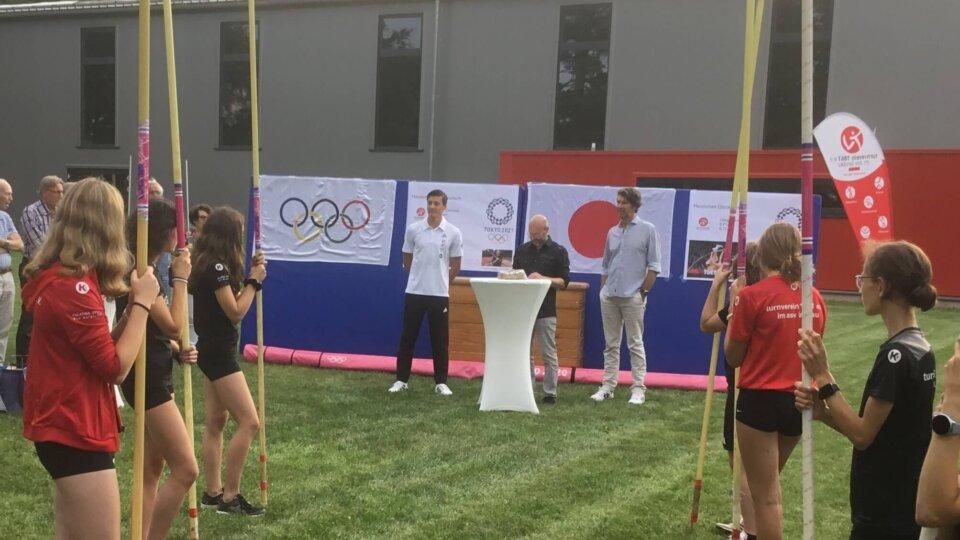 Empfang für Olympia-Heimkehrer Oleg Zernikel