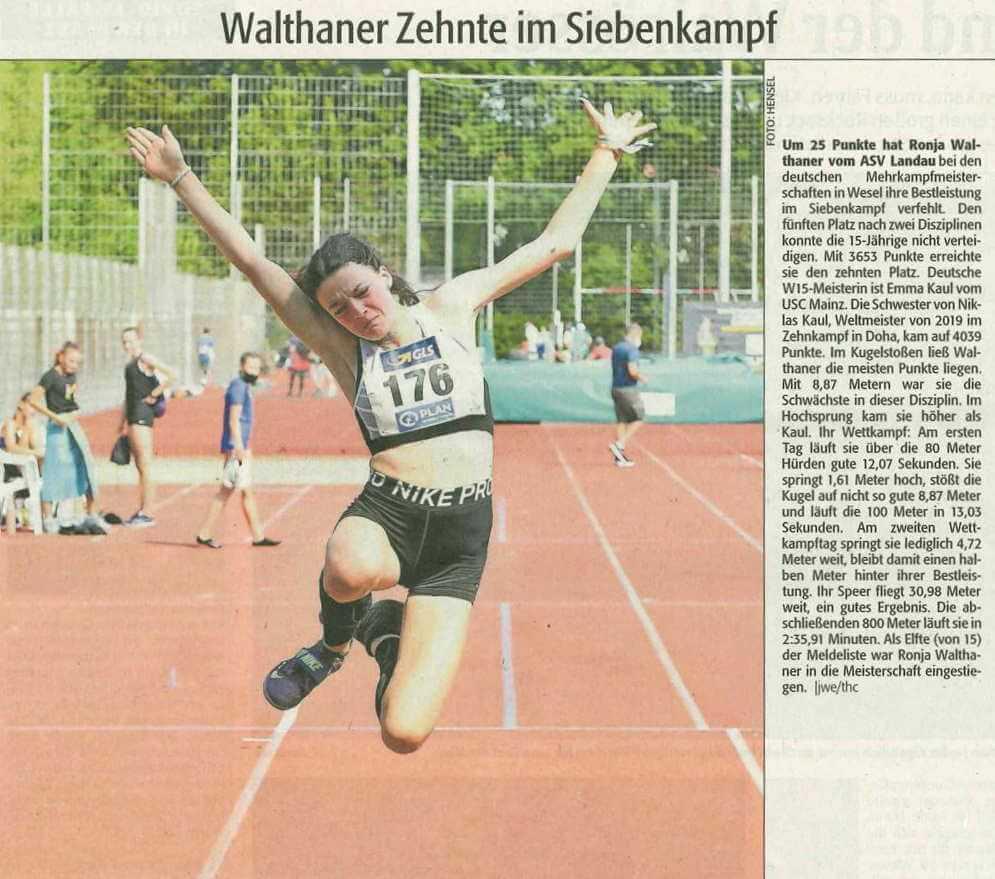 Walthaner Zehnte im Siebenkampf